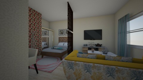 Sala e Quarto - by Jessica Meireles
