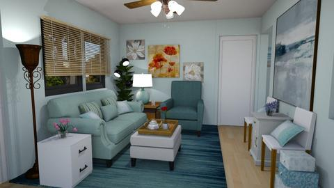 Our New House LR X - Eclectic - Living room - by sherryDN