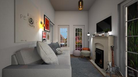 Casa321LivingArea - Modern - Living room - by nickynunes