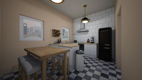 kitchen - Kitchen - by AfroditeGoldie