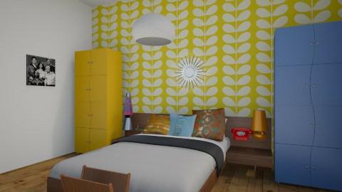 Retro Bedroom - Retro - Bedroom - by ElsaofDesign