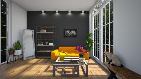 bvlck - Living room - by sil_vik