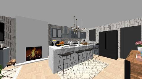 Our Kitchen Makeover 2 - Kitchen - by niidurose