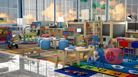 Jaya Day Care - Kids room - by anchajaya