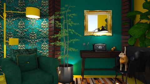 Green Wall - by Yavanna