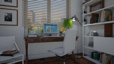 Small home office - Office - by Tuitsi