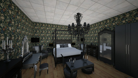 Smth Goth - Vintage - Bedroom - by Morigan