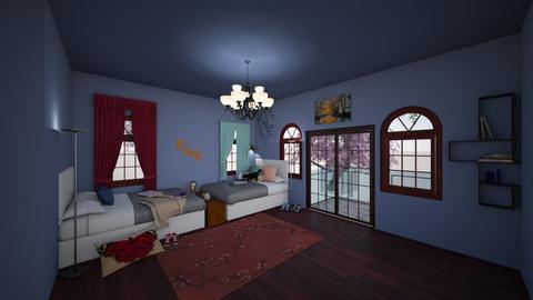 Ooof - Bedroom - by Worsebones