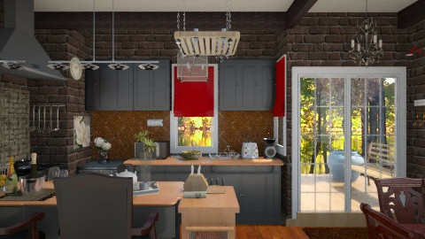 kitchen - by kittkatt1021