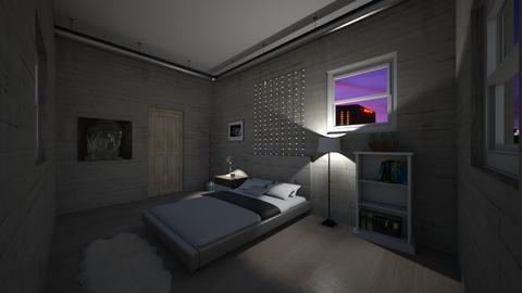 Apartment room 1 - Bedroom - by Julianatgonzales