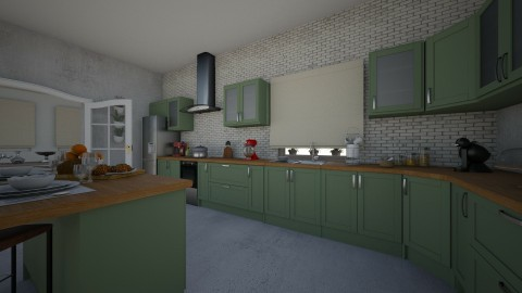 27092017 - Classic - Kitchen - by matina1976