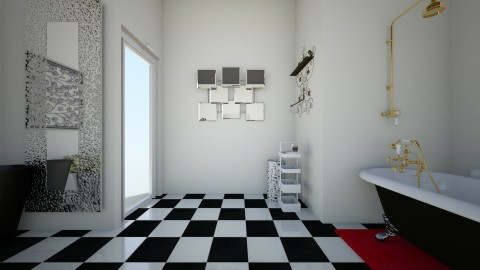 the modern vintage side 3 - Vintage - Bathroom - by theaphrodite