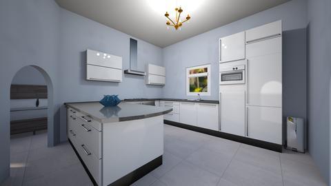 kitchen and room - Modern - Kitchen - by jade1111