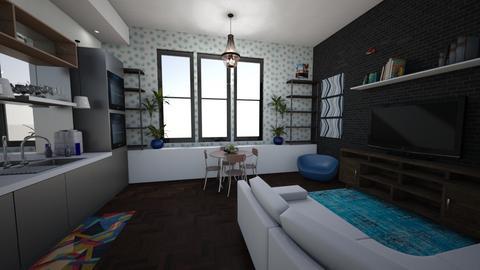 Studio Apartment - Kitchen - by jademydeco