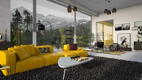 Chess_Weekend - Living room - by ZuzanaDesign
