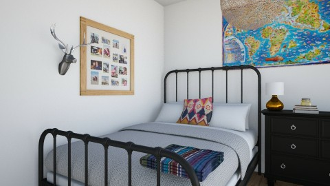Wes anderson movie room - Bedroom - by Cora_da_B0ss