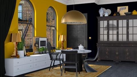 Cozy Dining room - Modern - Dining room - by HenkRetro1960