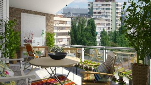 city balcony - by sanja1209