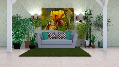 Plant challenge - Living room - by DrJaffaDesigner