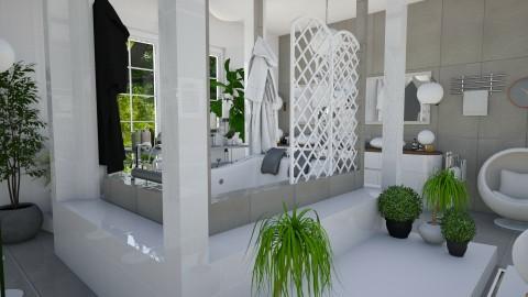 Modern Bathroom - Modern - Bathroom - by ZsuzsannaCs