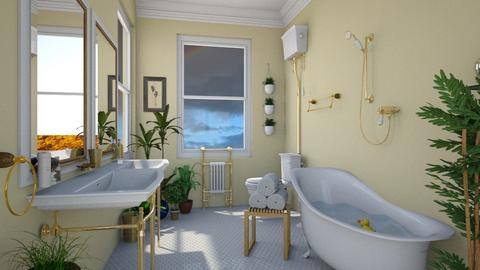 Sunny Bathroom - by lauren_murphy