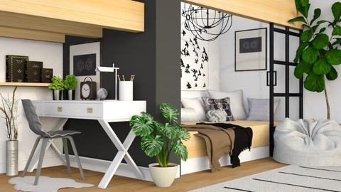 Modern Bedroom - Bedroom - by sara andrade