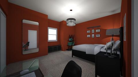 Warm Room - Bedroom - by DesignKeeper09