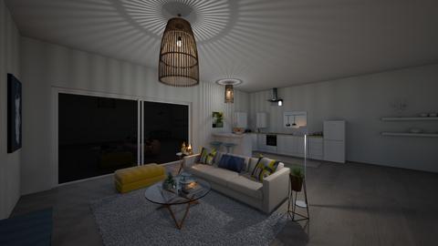 cshb - Living room - by chaimaeh