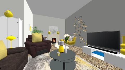 purple edition living 2 - Living room - by dreaminjayd