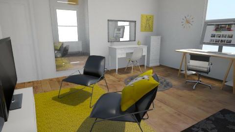 office yellow swap - by katy96xx