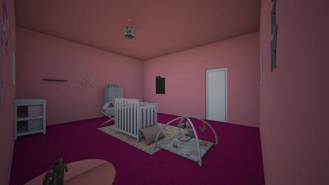 pink nursery - Classic - Kids room - by bortholf