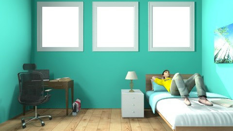 Rosalie Room - Modern - Bedroom - by Rosalie Carrier