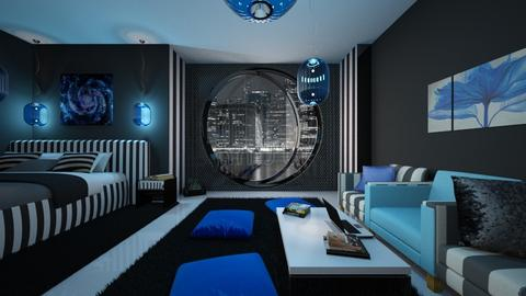 blue light - by ilcsi1860