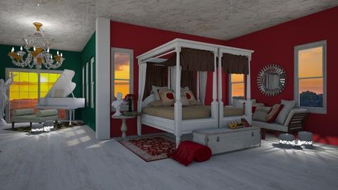 Rose Malet - Feminine - Bedroom - by BohoCHicc