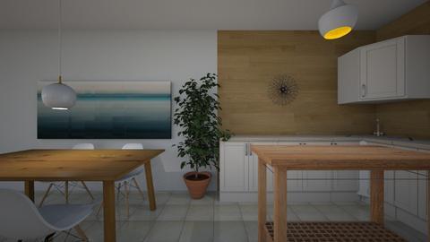 casa balsa - Kitchen - by domuseinterior