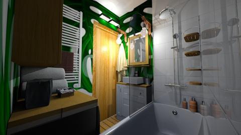 new bathroom - Bathroom - by aidual