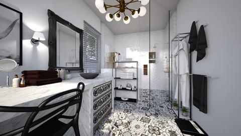 Neutral_B - Bathroom - by mire roig