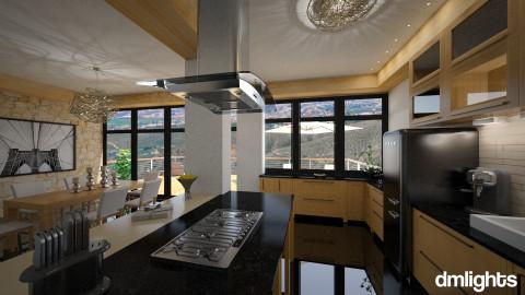 MadridLargeKitchen - Kitchen - by DMLights-user-1063855
