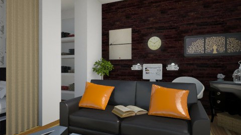 A_M_B - Modern - Living room - by anjuska9