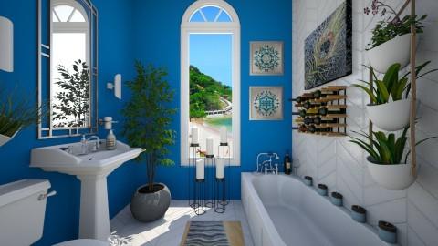 Spa Retreat - Bathroom - by VeroDale