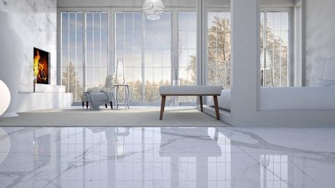 White - Bedroom - by Wildflowers