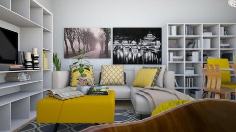 Via Aidone - Modern - Living room - by PROGETIM