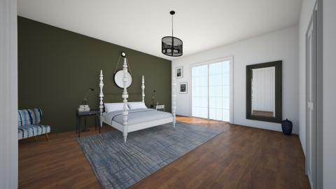 bedroom - by valcarona