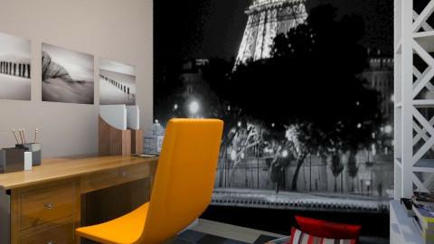 My studio  - Office - by Juh Avila