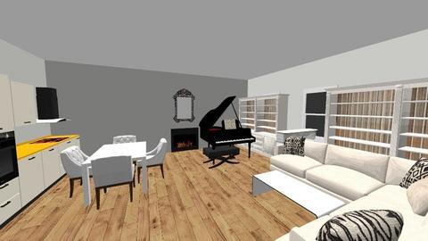Little Home - Minimal - Living room - by Bear3