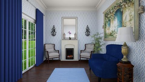 Blue Sitting Room - by VeroDale
