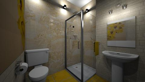 yellow bath - by Designs I Love