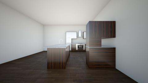 open plan 2 bed apartment - by Jack Bodington