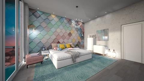 bedroom mural - by RebeIoni
