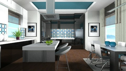 The Contest2 KITCHEN - Modern - Kitchen - by channing4